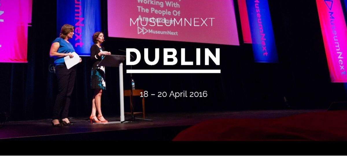 School of Education Hardiman & IRC Scholar at MuseumNext 2016 Conference-image