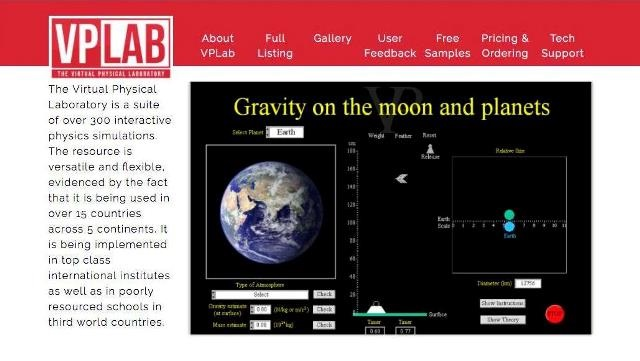 Virtual Physics Lab and Online Teaching Resources for Physics (JC/LC)-image