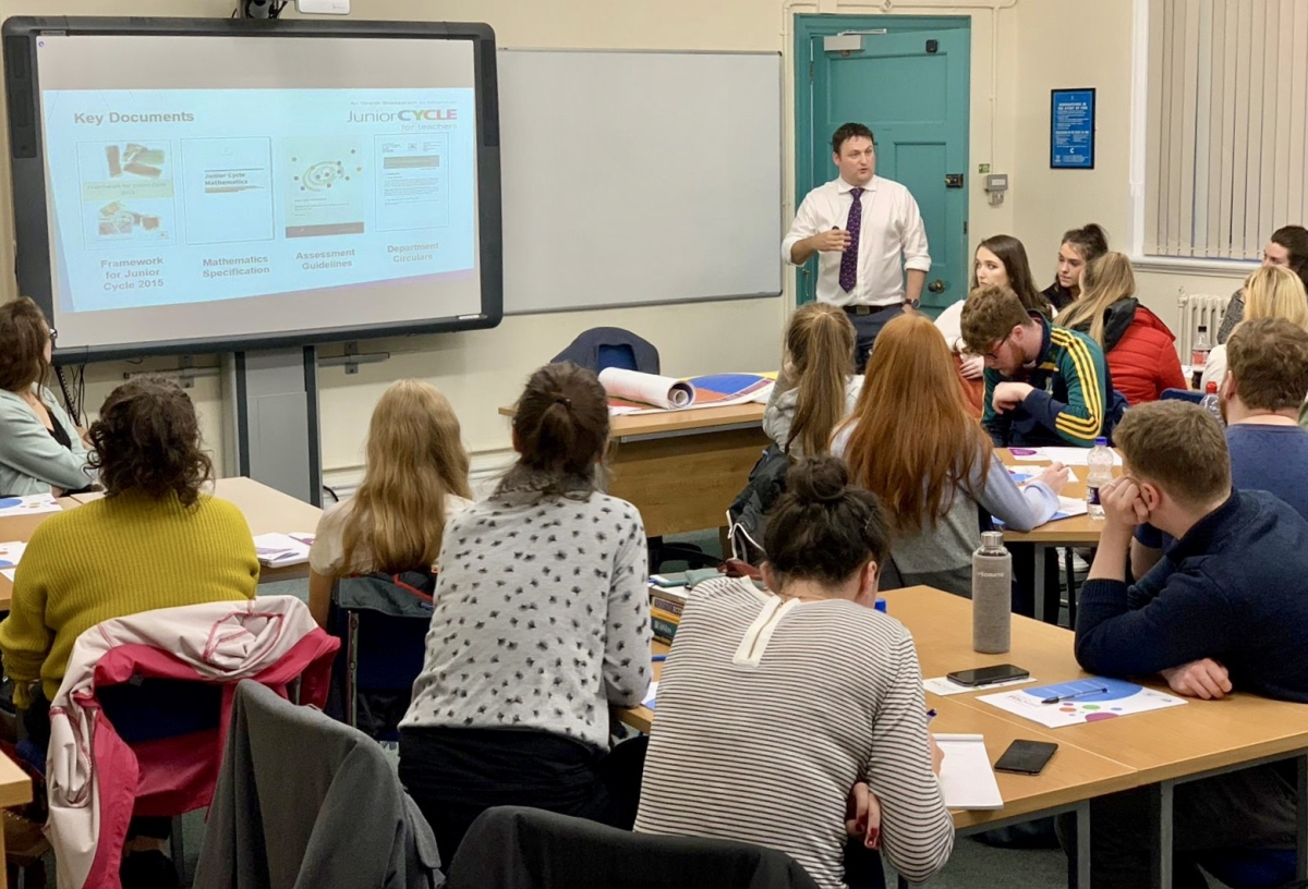 JCT Maths Workshop in School of Education-image