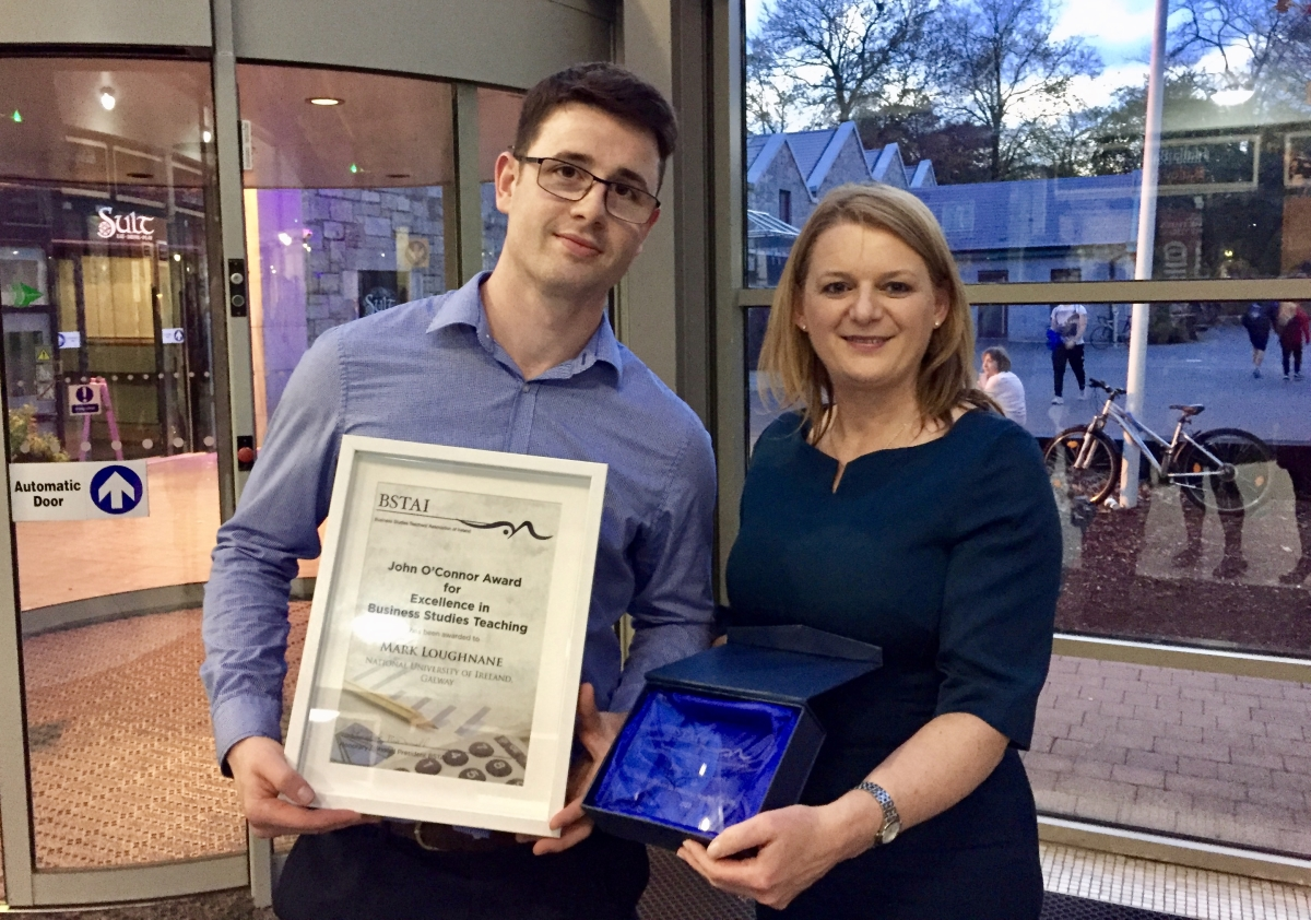 PME Student 2016-2018 Receives Inaugural BSTAI Award for Excellence in Business Studies Teaching-image