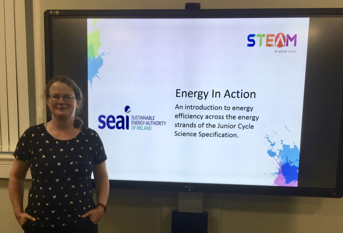 Energy in Action SEAI and JCT workshop for Junior Cycle Science-image