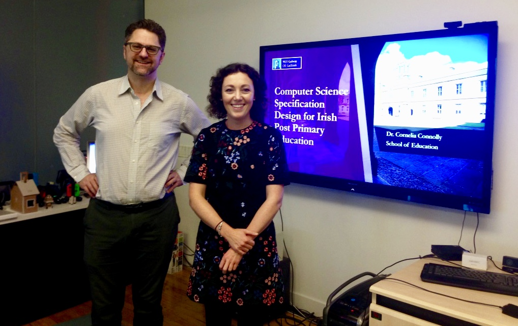 Dr Cornelia Connolly Presents at Steinhardt Graduate School of Education at New York University-image