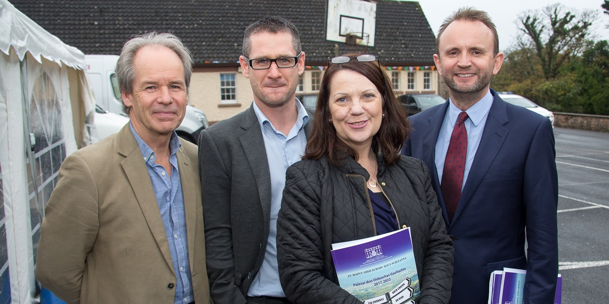 Launch of Education Policy for Gaeltacht Schools-image