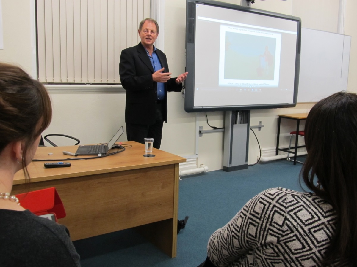 Guest speaker in second language learning and literacy-image