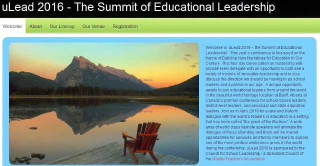 Staff Presenting at uLead 2016 - the Summit of Educational Leadership! -image