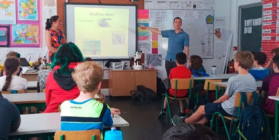 Teaching Galway Educate Together about Plastics in the Ocean and Microplastics.-image