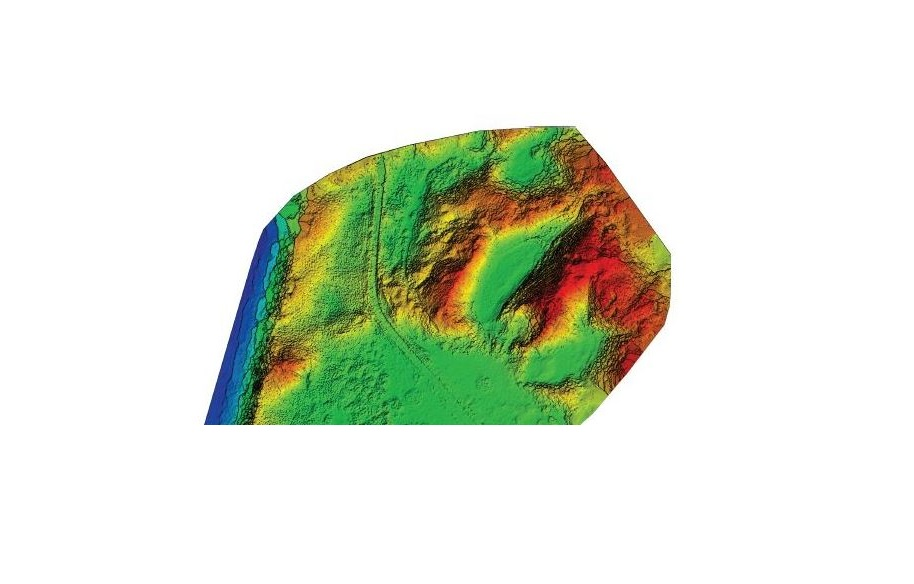 Using multispectral images and vegetation indices to map dune habitats using UAV (drone) technology-image