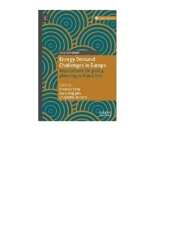Energy Demand Challenges in Europe: Implication for policy, planning & practice-image