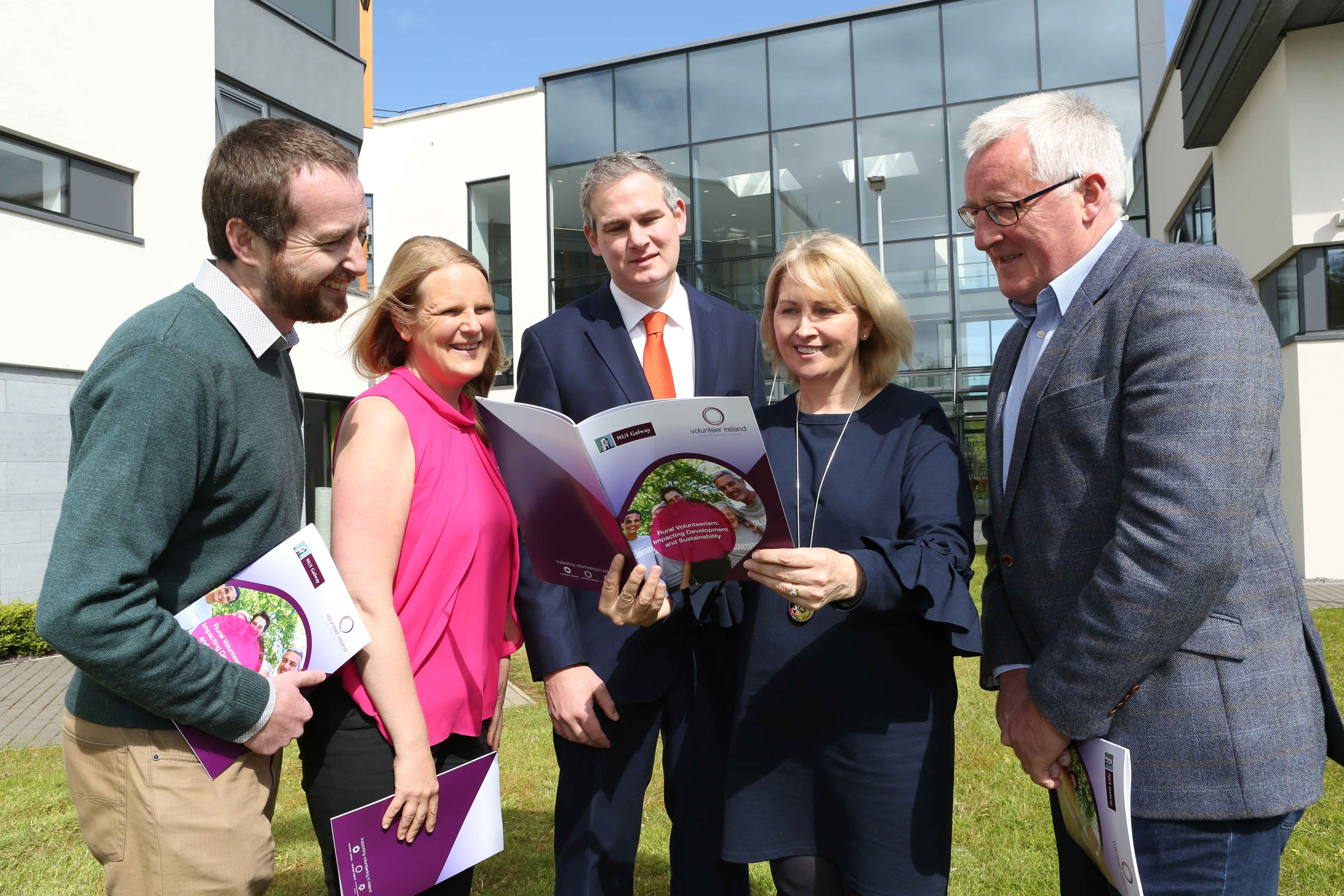 Dr Maura Farrell Leads NUI Galway Rural Volunteerism Research-image