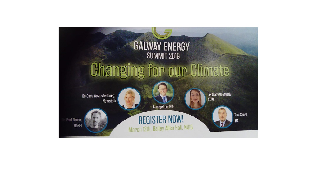 Dr Greene  participates as key panelist at Galway Energy Summit-image