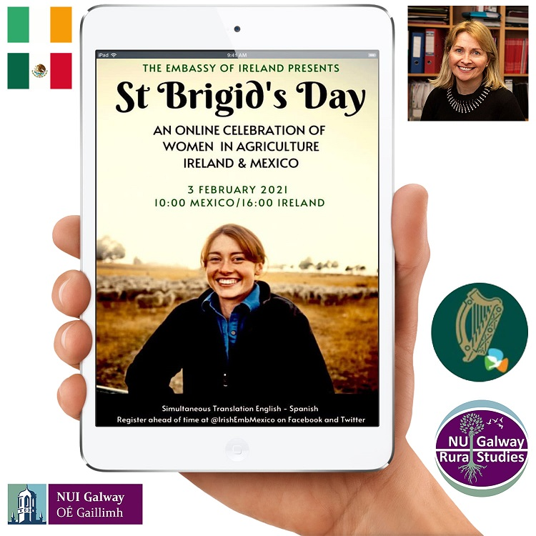Mexico-Ireland St Brigid's Day event celebrates women as unsung heroes of agriculture