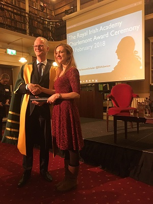 Dr Mary Greene is awarded RIA Charlemont Scholar-image