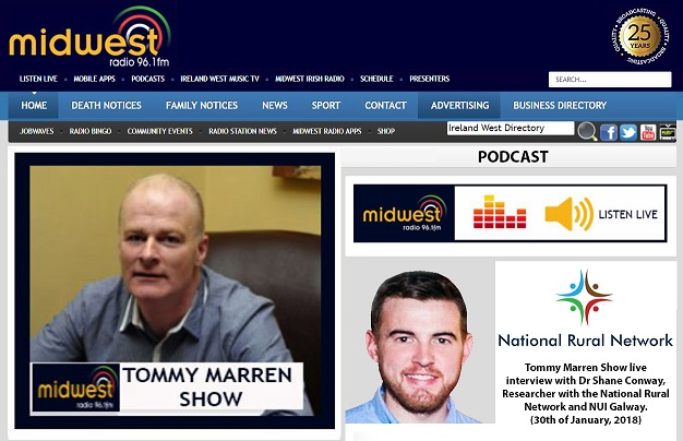 Tommy Marren from Midwest Radio interviewed Dr Shane Conway-image