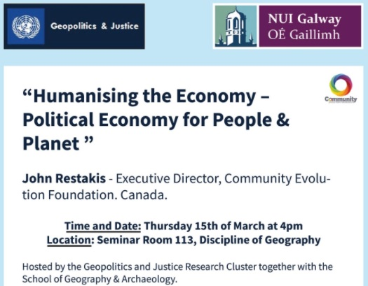 Humanising the Economy - Political Economy for People & Planet-image