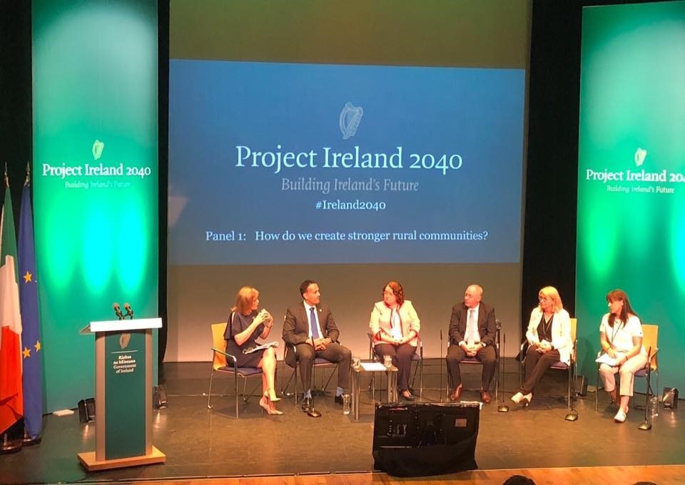 Dr Maura Farrell Speaks at Project Ireland 2040 Event-image