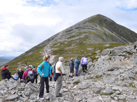 Outlining the continuing social and cultural role of the annual Reek Sunday pilgrimage-image