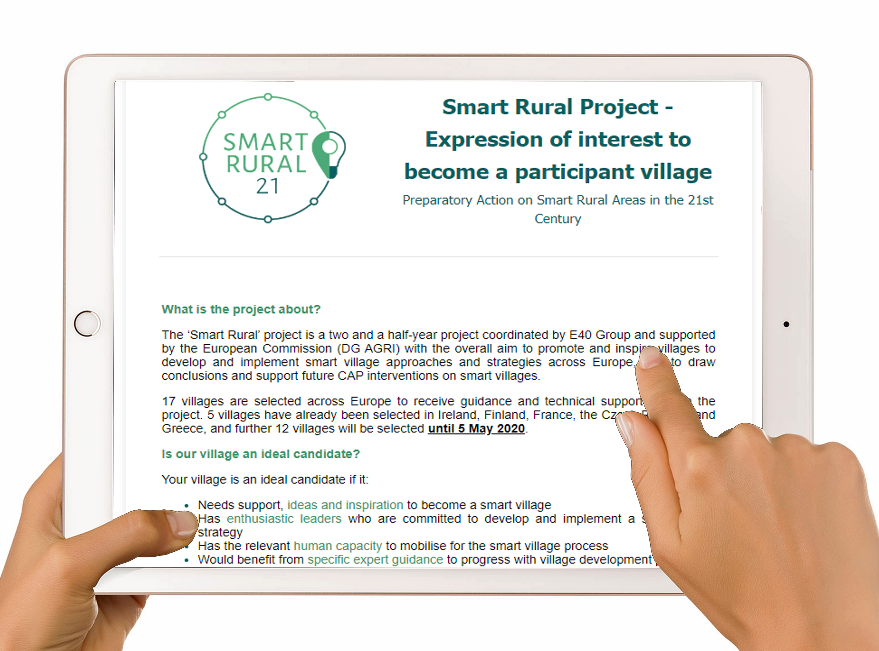 Smart Rural Project Open Call-image