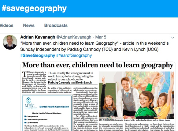 Geography as a key to solving global problems such as climate change and poverty-image
