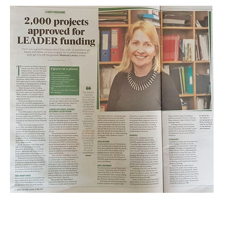 Dr Maura Farrell featured on the Irish Farmers Journal-image