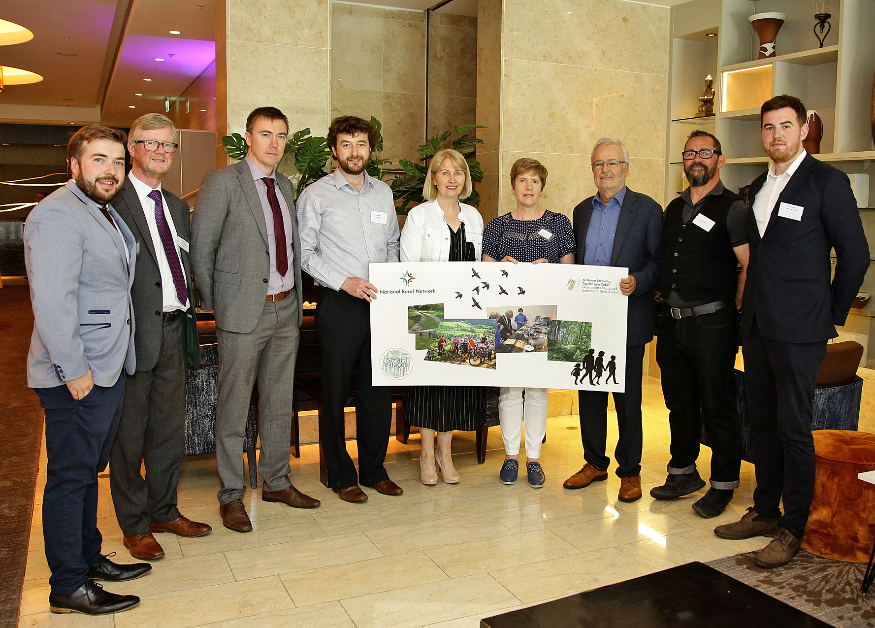 National 'Smart Villages and Rural Towns' Seminar organised by the NRN team at NUIG -image
