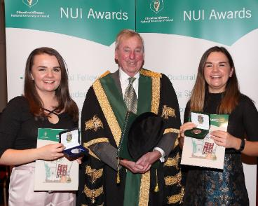 Rachel O'Malley was awarded the Dr Henry Hutchinson Stewart Medical Scholarship in Nursing and her twin sister, Rebecca O'Malley was awarded the Scholarship in Speech and Language Therapy in 2016