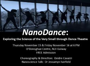 Exploring the Science of the Very Small through Dance Theatre
