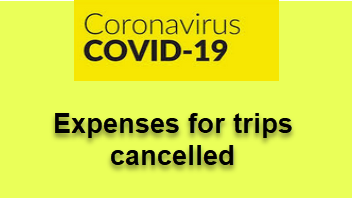 Expenses for Trips Cancelled (COVID-19)