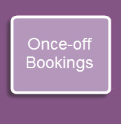 Once-off Bookings