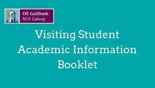 Visiting Student Academic Information Booklet Semester 1 18/19