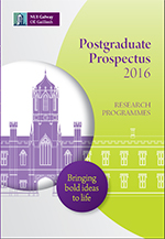 Research prospectus cover