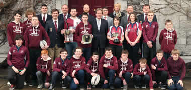 NUI Galway Rugby Wins Both Intervarsity Cups and Celebrates Academy Success-image