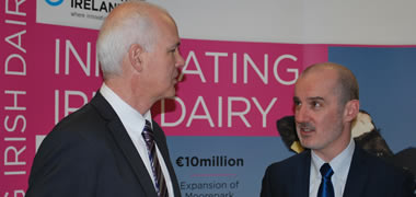 TCBB hosted at NUI Galway welcomes funding for new Dairy Processing Technology Centre-image