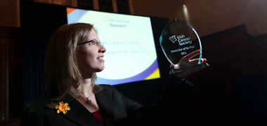 Irish Cancer Society Announces Dr Róisín Dwyer as Winner of first 'Researcher of the Year' Award-image