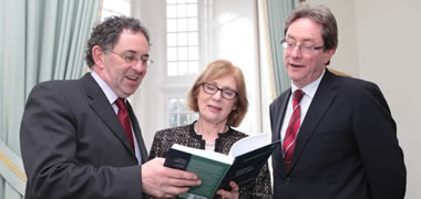 New Book on 'Contemporary Housing Issues in a Globalized World' presented to Minister Jan O' Sullivan at NUI Galway -image
