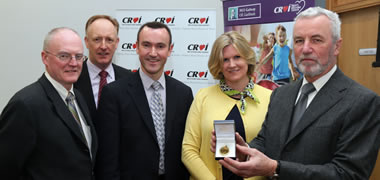 Gold Medal Launched to Honour Leading West of Ireland Cardiologist!-image