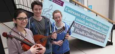 NUI Galway welcomes Galway Fleadh after 35 year absence from the city-image