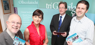 TG4 Presenter Launches New Irish Degree at NUI Galway -image