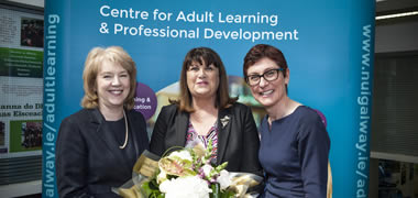 Maire Geoghegan-Quinn Launches NUI Galway Centre for Adult Learning and Professional Development-image