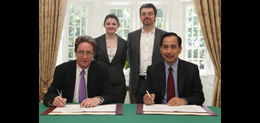 NUI Galway Signs Research and Education Alliance with (ICRISAT) -image