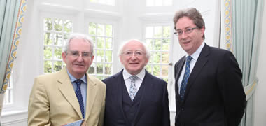 Celebration of prodigious career of historian Gearóid Ó Tuathaigh-image