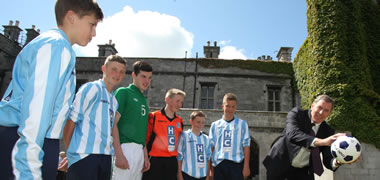 Packie Bonner launches 10th Macron Galway Cup in NUI Galway-image