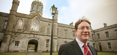 Pictured Dr Jim Browne, President NUI Galway.