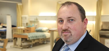 Pictured is Professor Declan Devane, School of Nursing and Midwifery at NUI Galway