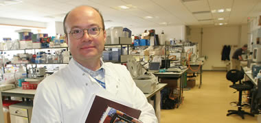 Pictured is Dr Thomas Ritter, Regenerative Medicine Institute (REMEDI) National University of Ireland Galway
