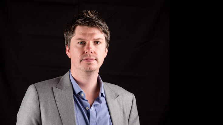 Dr Manus Biggs, Investigator at CÚRAM, the Science Foundation Ireland Centre for Research in Medical Devices based at NUI Galway. Photo: NUI Galway