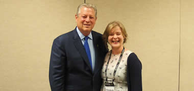 Irish Delegation Meet Al Gore at Climate Change Training in USA-image