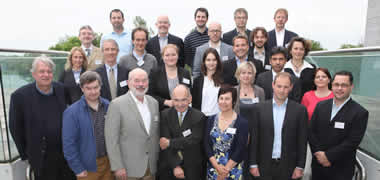 Pictured at the BME-IDEA Europe meeting in NUI Galway were 30 delegates from 15 different BioInnovate/Biodesign style university programmes from across Europe and the US.