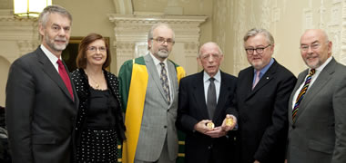 Minister For Education Presents Ria Gold Medals-image