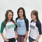 Image of Ladies Baseball T-Shirt