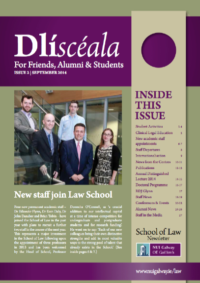School of Law Newsletter 2014
